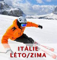 Itálie - léto - zima